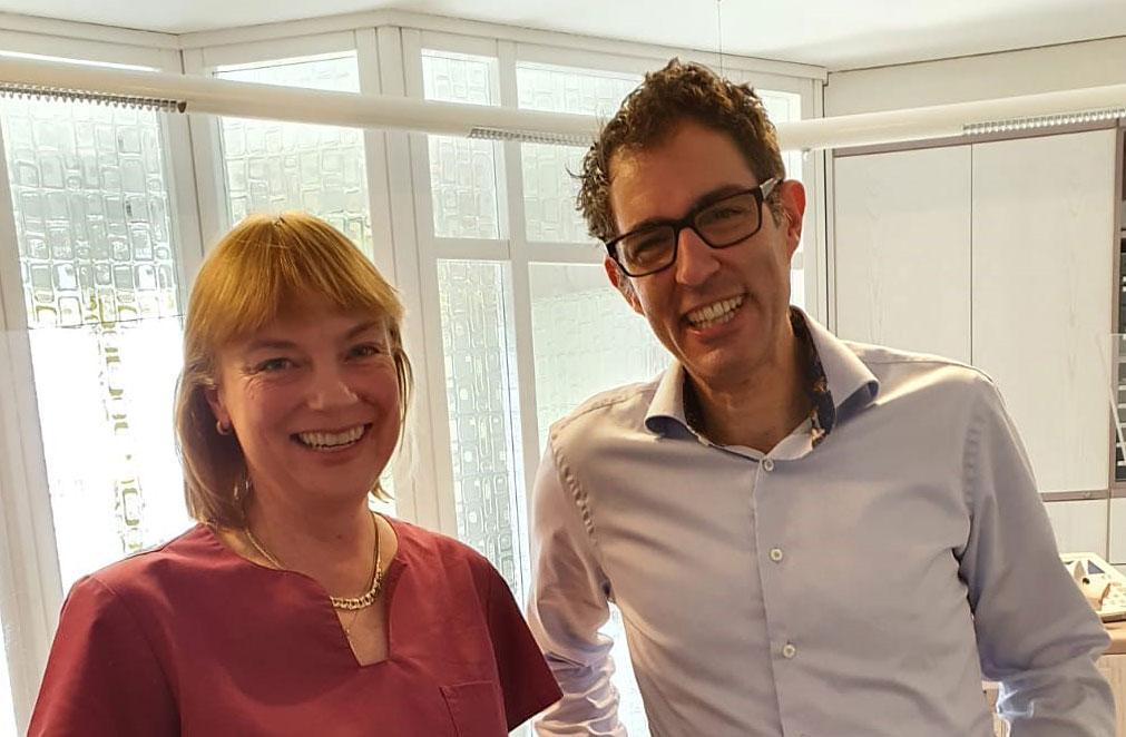 Dr. med. Christine Ebert und Jochen Herb
