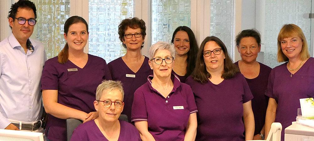 Das Team der Gynaekologischen Gemeinschaftspraxis Ebert / Herb
